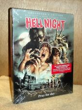 Hell Night (Blu-ray/DVD, 2018, 2-Disc) NE mansion haunted by victims of massacre