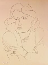 Henri Matisse Lithograph Drawing / Dessins O2 Limited First Edition 1943 Rare