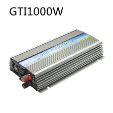 1000W Grid Tie Inverter 90V-140V Output MPPT Pure Sine Wave Solar Inverter Power