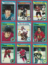 1979-80 Topps Hockey you pick 8 picks $2.00 EX and better