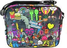 David & Goliath Pals Grey Multi School Messenger Bag DGBA7050GRY Brand NEW
