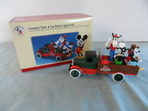 Mickey & Co. Disney County Fair 1931 Truck w/ Figurines Ertl