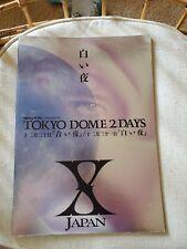 Brochure Live Concert Pamphlet Japan Tokyo Dome 2 Days