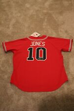 Chipper Jones Braves Autographed / Signed MVP Jersey COA