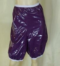 shorty bloomer purple pvc adult XL neu Diargh