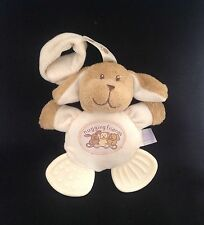 TESCO Hugging Friends 2005 Puppy Dog Doudou Baby Blankie Comforter Soft Toy