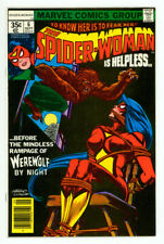 SPIDER-WOMAN #6 NM- 9.2 WEREWOLF BY NIGHT GILBERT COMIC 1978