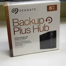 Seagate Backup Plus Hub External Desktop Hard Drive Enclosure STEL6000100 NO HD
