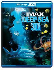 IMAX DEEP SEA 3D & 2D BRAND NEW & SEALED BLURAY