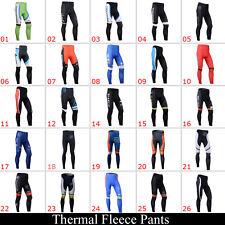 New Mens Bike Cycling Bib Trousers Pants Bicycle Tights Winter Fleece Thermal