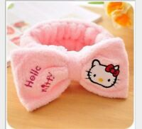 new Hello Kitty Knitted Warm Headband Cute Winter Hair Accessories Girls