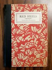 RED HEELS, Signed and Inscribed by Lexie Dean Robertson