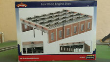 More details for bachmann scenecraft 44-050 four road engine shed, weathered, boxed