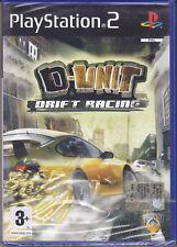 Ps2 PlayStation 2 «D-UNIT DRIFT RACING» nuovo sigillato italiano