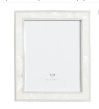 Pottery Barn Mother of Pearl Frame,8x10