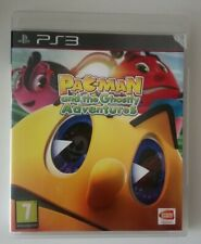 PAC-Man y las aventuras fantasmales PLAYSTATION 3 PS3 Juego. con Manual. PAL Reino Unido