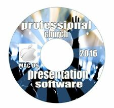 MAC 2015 Professional Church Worship Presentation Software-Bible Screen Video-CD