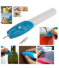 Penna elettrica incisore per legno metalli pietre cuoio e vetro a batterie
