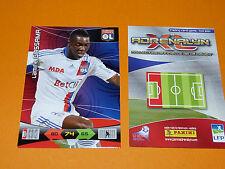 L. GASSAMA OLYMPIQUE LYON OL FOOTBALL FOOT ADRENALYN CARD PANINI 2010-2011