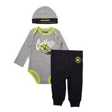 Body e pagliaccetti grigio casual per bambino da 0 a 24 mesi
