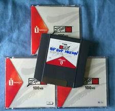 """EMU """"Hip Hop Nation"""" sample collection on 3 new ZIP100 disks"""