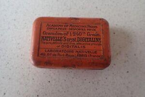 Academy of medicines Paris tin