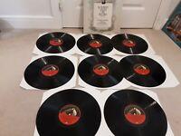 SCHUBERT LIEDER ON RECORD 8 LP BOX RLS 766 HMV LIMITED MONO