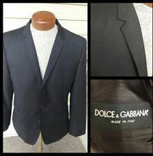 Recent Dolce & Gabbana Black Sport Coat Jacket Blazer EU 50 US 38 Dual Vents