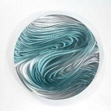 Metal Abstract Modern Wall Art Home Decor - Aurora Stream Blue by Jon Allen