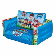 PAW PATROL FLIP OUT SOFA KIDS BEDROOM 100% OFFICIAL NEW