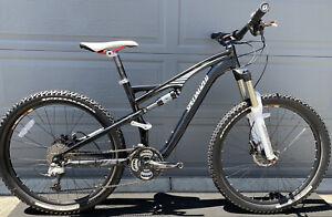 Specialized Camber Expert FSR Full Suspension Mountain Bike Rock Shox Forks Fox
