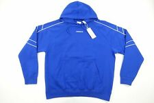 ADIDAS DJ1723 BLUE XL ATHLETIC POCKETED EQT OUTLINE HOODIE SWEATER MENS NWT NEW