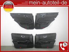 Mercedes S212 SET 4 Türpappen Türverkleidung Schwarz Ambiente 09-16 2127200170 D