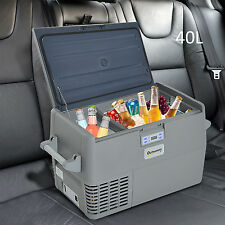 40L Portable Refrigerator Car Cooler Freezer Electric Mini Fridge Icebox Travel