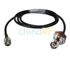 RP-TNC plug male to RP-TNC Jack Female Adapter pigtail cable KSR195 10M for WLAN