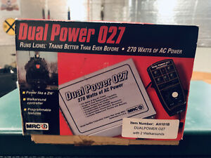 O Gauge MRC  Dual Power 270 Watts Of AC Power With 2 Walkarounds New Old Stock