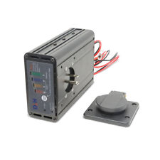8 Amp Panel Mount Battery Charger with Tester - DLH-D1208T
