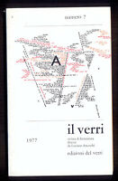 IL VERRI sesta serie n. 7 1977 copertina Vincenzo Accame