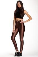 NWT American Apparel Women's Disco Pants in Brown Size XX-SMALL XXS #1