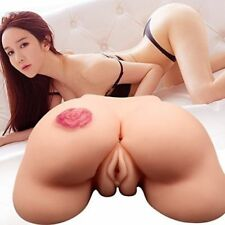 Realistic-Doll-with-Real-Vagina-and-Anal-Silicone Pussy Deluxe Toy_Men_Love_Sex