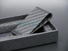 REAL High Quality 100% 3K twill Carbon Fibre Money Clip - MATT Finish (M) 1002