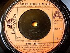 "CROWN HEIGHTS AFFAIR - FOXY LADY  7"" VINYL"