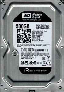 Western Digital WD5003AZEX-00RKKA0 DCM: EHNNKV2CH 500GB