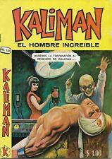 Kaliman El Hombre Increible #174 - Marzo 29,1969 - Mexico