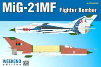 Eduard Weekend Edition 1:72 MiG-21MF Fighter Bomber Aircraft Model Kit