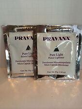PRAVANA PURE LIGHT POWDER POWER LIGHTENER PACKETTE - 1.06 X2!