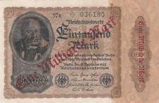 Billet banque ALLEMAGNE GERMANY 1000 MARK 1922 état voir scan 185