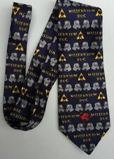 Berketex Collectable Millennium Bug 2000 mens neck tie