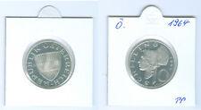 Österreich  10 Schilling 1964  Silber PP