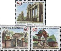 Berlin (Ouest) 761-763 (édition complète) oblitéré 1986 portails et buts